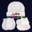 ชุดหมวก ถุงมือ ถุงเท้า ผ้าลิปเข้าชุดกัน (แพ็ค 12 เซ็ต) thumbnail 4