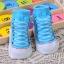 ถุงเท้าเด็กอ่อน 0-12 เดือน พิมพ์ลายรองเท้าผ้าใบ พื้นมีกันลื่น thumbnail 6
