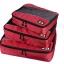 ชุดจัดกระเป๋าเดินทางคุณภาพดีมาก 3 ใบต่อชุด ใส่เสื้อ, กางเกง, กระโปรง, ผ้าขนหนู (Ecosusi 3 Set Packing Cubes - Travel Organizers) thumbnail 39