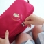 กระเป๋าใส่ชุดชั้นใน กางเกงชั้นใน ขนาดใหญ่พิเศษ แบ่งช่องสองด้าน ใส่ได้หลายตัว มี 4 สี 4 ลาย thumbnail 8