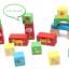 ชุดบล็อคไม้ของเล่น ทรงเรขา สร้างเมือง 80 ชิ้น thumbnail 8