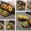 รองเท้าเด็กอ่อน ลายผึ้งสีเหลือง วัย 0-12 เดือน thumbnail 2
