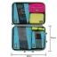 ชุดจัดกระเป๋าเดินทางคุณภาพดีมาก 3 ใบต่อชุด ใส่เสื้อ, กางเกง, กระโปรง, ผ้าขนหนู (Ecosusi 3 Set Packing Cubes - Travel Organizers) thumbnail 18