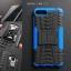 เคส Zenfone 4 Max 5.2 ( ZC520KL ) กรอบบั๊มเปอร์ กันกระแทก Defender สีน้ำเงิน (เป็นขาตั้งได้) thumbnail 1