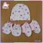 ชุดหมวก+ถุงมือ+ถุงเท้าเข้าชุด thumbnail 4