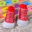 ถุงเท้าเด็กอ่อน 0-12 เดือน พิมพ์ลายรองเท้าผ้าใบ พื้นมีกันลื่น thumbnail 7