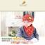 Set หมวกเด็กอ่อน+ผ้ากันเปื้อนสามเหลี่ยม Yummy Vegetable วัย 3-24 เดือน thumbnail 7
