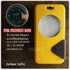 เคส Zenfone Selfie (ZD551KL) เคสฝาพับ 2 เฉดสี FULL FUNCTION มีช่องใส่บัตรและแถบแม่เหล็ก สีเหลือง/ดำ