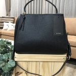 ZARA MEDIUM TOTE BAG WITH ZIPS 2017