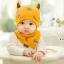 AP226••เซตหมวก+ผ้ากันเปื้อน•• / ดวงตา [สีเหลือง] thumbnail 3