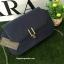 กระเป่า CHARLES & KEITH METALLIC CLASP CLUTH สี Navy รุ่นใหม่ชนช้อป!! กระเป๋าหนังทรงกล่อง ตั้งอยู่ทรง ดีไซน์เก๋ thumbnail 3
