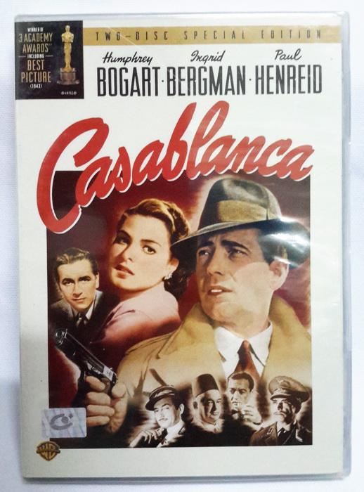 (DVD) Casablanca (1942) คาซาบลังก้า (2 Discs) (มีพากย์ไทย)