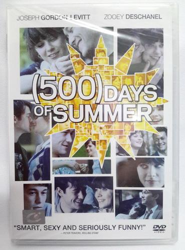 (DVD) (500) Days of Summer (2009) ซัมเมอร์ของฉัน 500 วันไม่ลืมเธอ