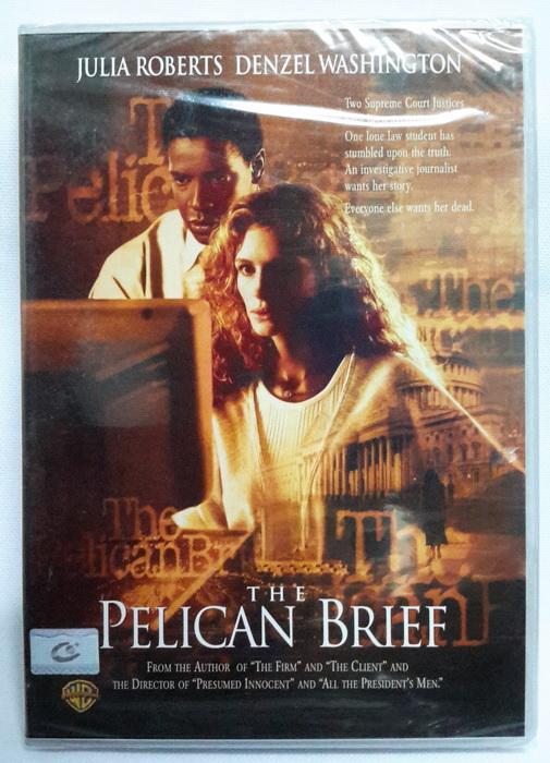 (DVD) The Pelican Brief (1993) ผู้หญิงเสี้ยวมรณะ