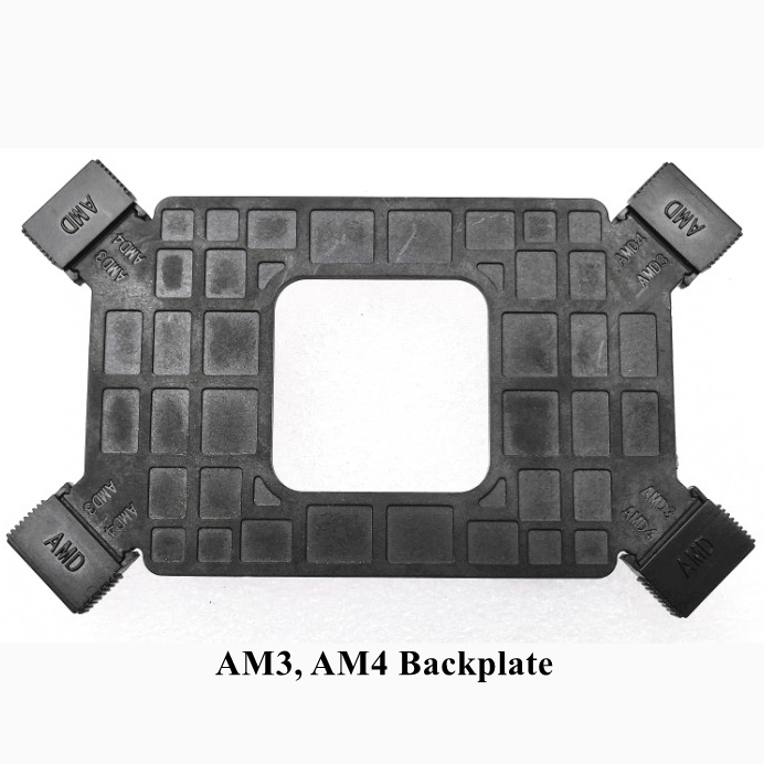 AM3-AM4 Backplate